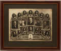 Hockey Collectibles:Photos, 1927 Ottawa Senators Original Team Photograph....