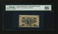 Fractional Currency:Third Issue, Fr. 1251 10¢ Third Issue PMG Gem Uncirculated 66 EPQ....