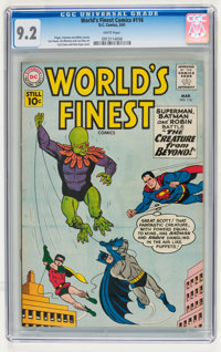 World's Finest Comics #116 (DC, 1961) CGC NM- 9.2 White pages