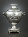Silver Holloware, American:Other , AN AMERICAN SILVER WINE COOLER. Tiffany & Co., New York, NewYork, circa 1870-1875. Marks: TIFFANY & CO., 2360, QUALITY,9... (Total: 2 Items)