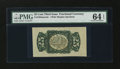 Fractional Currency:Third Issue, Fr. 1294SP 25¢ Third Issue Wide Margin Back PMG Choice Uncirculated 64 EPQ....