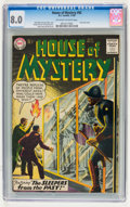 Silver Age (1956-1969):Science Fiction, House of Mystery #92 (DC, 1959) CGC VF 8.0 Off-white to whitepages....
