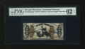 Fractional Currency:Third Issue, Fr. 1357aSP 50¢ Third Issue Justice Narrow Margin Face PMG Uncirculated 62 EPQ....
