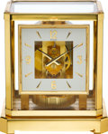 Timepieces:Clocks, LeCoultre Atmos Clock, circa 1980's. ...