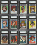 """Non-Sport Cards:Sets, 1967 Topps """"Who Am I?"""" Complete Set (44) - #1 on the SGC SetRegistry!..."""