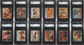 "Non-Sport Cards:Sets, 1950 Bowman ""Wild West"" Mid to High Grade Complete Set (180). ..."