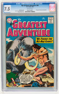 Silver Age (1956-1969):Adventure, My Greatest Adventure #40 (DC, 1960) CGC VF- 7.5 Off-white pages....