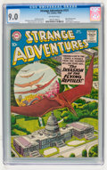 Silver Age (1956-1969):Science Fiction, Strange Adventures #121 (DC, 1960) CGC VF/NM 9.0 Off-white pages....