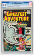 Silver Age (1956-1969):Science Fiction, My Greatest Adventure #45 (DC, 1960) CGC VF+ 8.5 Off-white to white pages....
