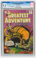 Silver Age (1956-1969):Science Fiction, My Greatest Adventure #51 (DC, 1961) CGC NM- 9.2 Off-white pages....