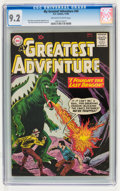 Silver Age (1956-1969):Science Fiction, My Greatest Adventure #49 (DC, 1960) CGC NM- 9.2 Off-white to white pages....