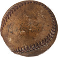 Baseball Collectibles:Balls, Babe Ruth and others Multi Signed Baseball....