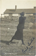 Golf Collectibles:Autographs, 1914 Cecil Leitch Signed Photograph....