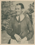 Golf Collectibles:Autographs, 1930's Paul Runyan Signed Photograph....