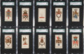 "Non-Sport Cards:Sets, 1880's N181 Kimball ""Arms of Dominions"" Complete Set (48) - #1 on the SGC Set Registry!..."