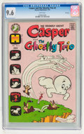Bronze Age (1970-1979):Cartoon Character, Casper Related CGC-Graded File Copy Group (Harvey, 1973) CGC NM+9.6.... (Total: 3 Comic Books)