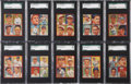 Baseball Cards:Sets, 1935 Goudey 4-In-1 Near Set (28) - #3 on the SGC Set Registry. ...