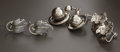 Silver Smalls:Other , THREE PAIR OF MEXICAN SILVER EARRINGS. Emma Melendez, Taxco,Mexico, circa 1965. Marks: EMMA, STERLING, MEXICO. 1-1/4 inches...(Total: 6 Items)