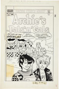 Original Comic Art:Covers, Dan DeCarlo Archie's Pals 'n' Gals #173 Cover Original Art(Archie, 1985)....