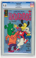 Bronze Age (1970-1979):Cartoon Character, Underdog #9 File Copy (Gold Key, 1976) CGC NM/MT 9.8 Off-white towhite pages....