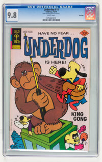 Underdog #10 File Copy (Gold Key, 1976) CGC NM/MT 9.8 White pages