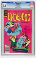 Bronze Age (1970-1979):Cartoon Character, Underdog #13 File Copy (Gold Key, 1977) CGC NM/MT 9.8 Off-white towhite pages....