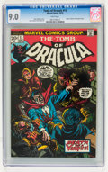 Bronze Age (1970-1979):Horror, Tomb of Dracula #13 (Marvel, 1973) CGC VF/NM 9.0 White pages....