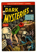 Golden Age (1938-1955):Horror, Dark Mysteries #19 (Master Publications, 1954) Condition: VG....