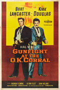 "Movie Posters:Western, Gunfight at the O.K. Corral (Paramount, 1957). Poster (40"" X 60"").. ..."