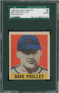 Baseball Cards:Singles (1940-1949), 1948 Leaf Dave Philley #85 SGC Authentic....