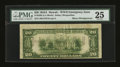 Error Notes:Skewed Reverse Printing, Fr. 2305 $20 1934A Hawaii Federal Reserve Note. PMG Very Fine 25.....