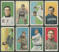 Baseball Cards:Lots, 1909-11 T206 White Borders Collection (8) With Tinker! ...
