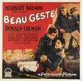 "Movie Posters:Adventure, Beau Geste (Paramount, 1926). Six Sheet (81"" X 81"").. ..."
