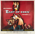 "Movie Posters:Drama, East of Eden (Warner Brothers, 1955). Six Sheet (81"" X 81"").. ..."