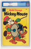 Golden Age (1938-1955):Funny Animal, Mickey Mouse #40 (Dell, 1955) CGC NM 9.4 Off-white pages....