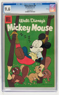 Golden Age (1938-1955):Funny Animal, Mickey Mouse #48 File Copy (Dell, 1956) CGC NM+ 9.6 Off-whitepages....