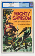 Silver Age (1956-1969):Adventure, Mighty Samson #9 (Gold Key, 1967) CGC NM 9.4 Off-white pages....