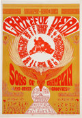 Music Memorabilia:Posters, The Grateful Dead Straight Theater Concert Poster (1967)....