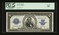 Large Size:Silver Certificates, Fr. 282 $5 1923 Silver Certificate PCGS Gem New 65....