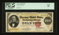 Large Size:Gold Certificates, Fr. 1215 $100 1922 Gold Certificate PCGS Very Fine 25....