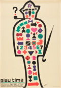 """Movie Posters:Comedy, Playtime (Spectra Films, 1971). Polish One Sheet (23"""" X 33"""").Comedy.. ..."""