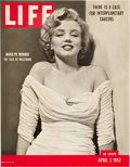 "Movie Posters:Miscellaneous, Marilyn Monroe Newstand Poster (Life Magazine, 1952). Poster (26.5""X 34"").. ..."