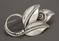 Silver Smalls:Other , AN AMERICAN SILVER PIN. Alphonse LaPaglia, for InternationalSterling Co., Meriden, Connecticut, circa 1952. Marks:LaPag...