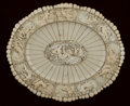 Decorative Arts, Continental:Other , A GERMAN CARVED AND APPLIED OVAL IVORY CHARGER. Maker unknown,Germany, circa 1870-1890. Unmarked. 0-1/2 x 18-3/4 x 15-3/4 i...