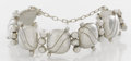 Silver Smalls:Other , A MEXICAN SILVER BRACELET. After William Spratling, Taxco, Mexico,circa 1940. Marks: WS, SPRATLING, MADE IN MEXICO, SPRAT...