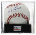 Autographs:Baseballs, Y.A. Tittle Single Signed Baseball, PSA Mint+ 9.5. Offered here isthe unique chance to get a strong single signed baseball ...