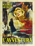 "Movie Posters:Adventure, L' Avventura (Cino del Duca, 1960). French Grande (47"" X 63""). ..."