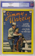 Golden Age (1938-1955):Western, Jimmy Wakely #2 Mile High pedigree (DC, 1949) CGC NM 9.4 Whitepages....
