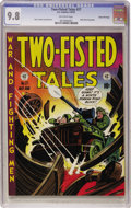 Golden Age (1938-1955):War, Two-Fisted Tales #27 Gaines File pedigree 3/10 (EC, 1952) CGC NM/MT 9.8 Off-white pages....