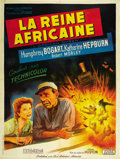 "Movie Posters:Adventure, The African Queen (United Artists, 1952). French Grande (47"" X63""). ..."